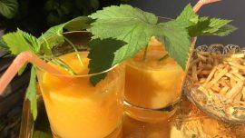 Hanabi 花火, en solhet drink med mango och habanero