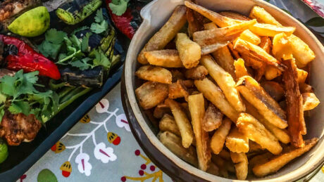 cassava fries