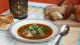 Köttsoppa på ren. Världens godaste soppa!