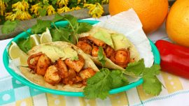 Tacos med bläckfisk