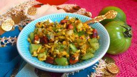 Bhel puri, snacks från västra Indien