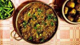 Balti curry på nöt (typ)