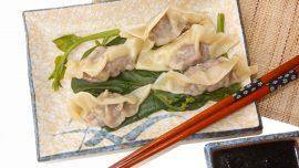 Dumplings med räkor