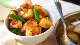 Kinesisk potatis med chili