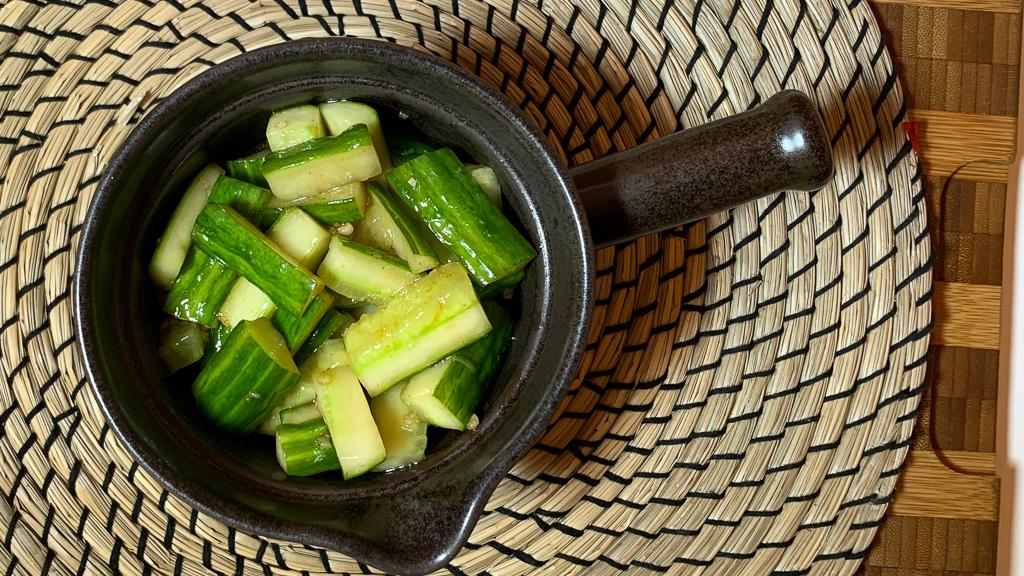 kambodjansk gurksallad