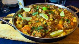 Sopa de Albondigas – mexikansk köttbullssoppa