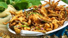 Pakora, indiska friterade grönsaker